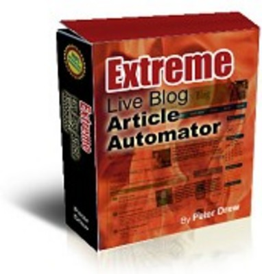 Product picture ExtremeLiveBlogArticleAutomator+bonus